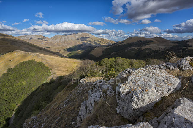 Mont Vettore en automne — Photo de stock