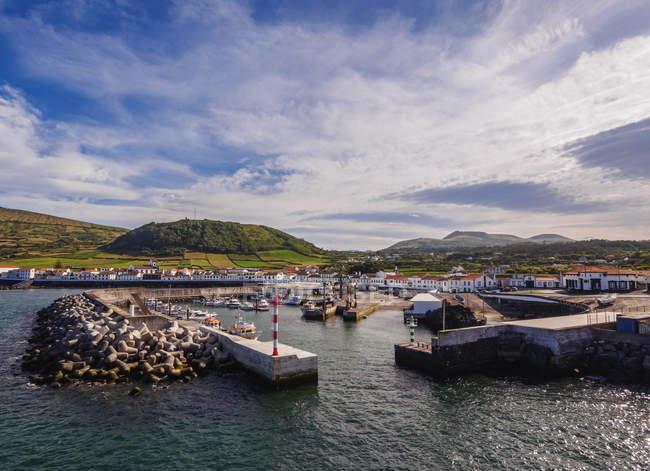 Porto da Praia na ilha Graciosa — Fotografia de Stock
