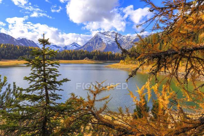 Palu Lake in autumn — Stock Photo