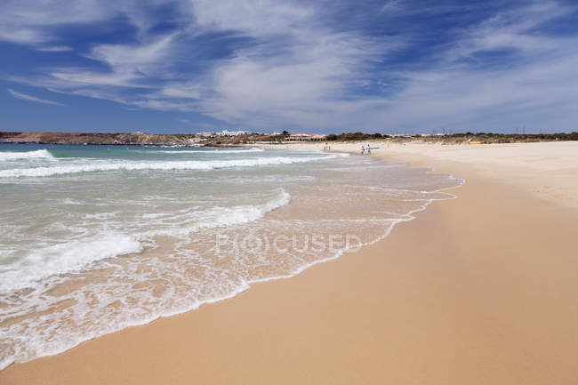 Martinhal sandy beach — Stock Photo