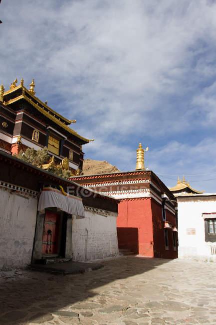 Храм Таші Lhunpo монастир — стокове фото