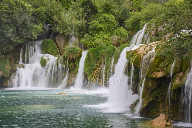Skradinski Buk waterfalls — Stock Photo