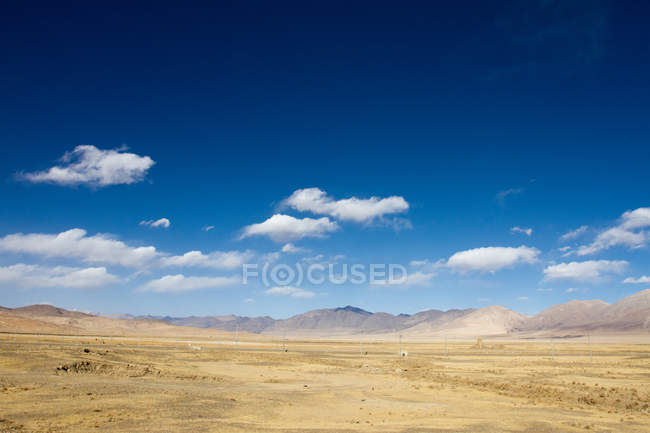 Plains of Southern Tibet — Stock Photo