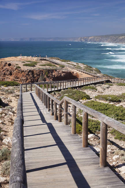 Praia da Borderia beach — Fotografia de Stock