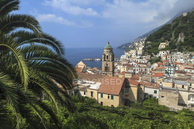 Amalfi Stadt und Küste — Stockfoto