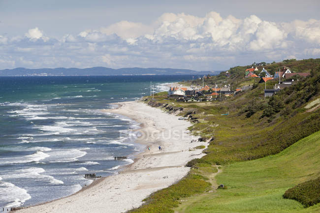 Rageleje Strand beach — Stockfoto