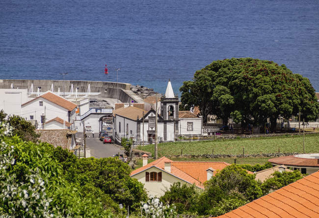 Distrito de praia na ilha Graciosa — Fotografia de Stock
