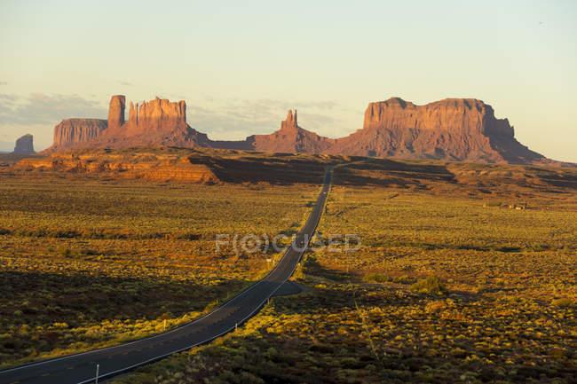 Monument Pass at sunrise — Stock Photo