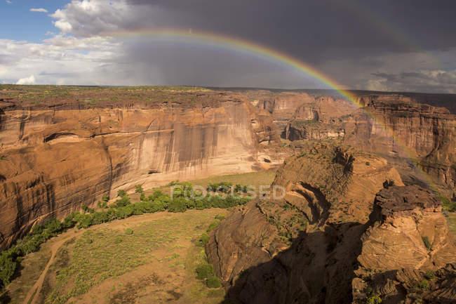 Каньон de холодно национальный памятник — стоковое фото