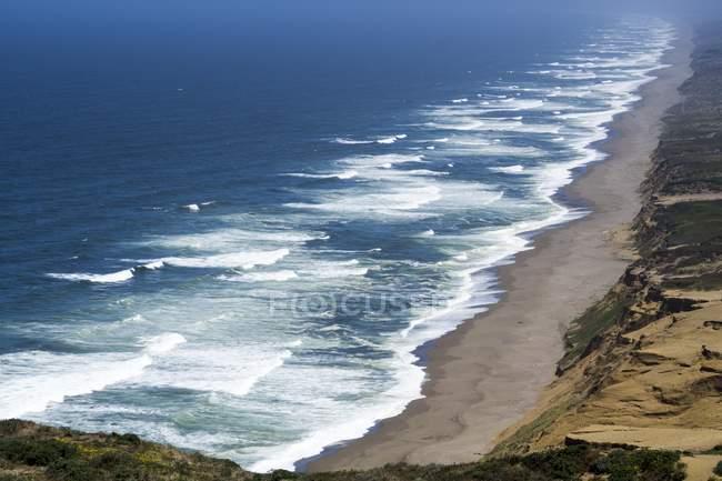 Укажите reyes национальное побережье — стоковое фото