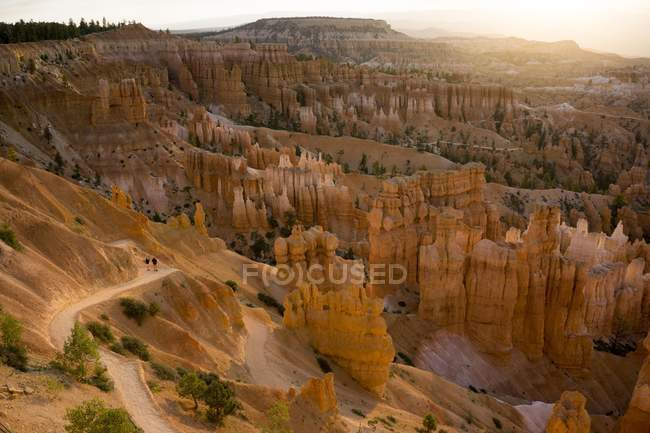 Bryce National Park at sunset — Stock Photo