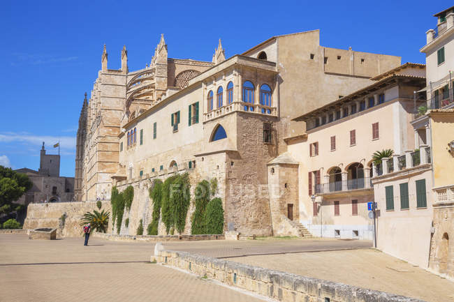 La Seu Cathedral — Stock Photo