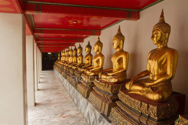 Buddhas der Wat Pho — Stockfoto