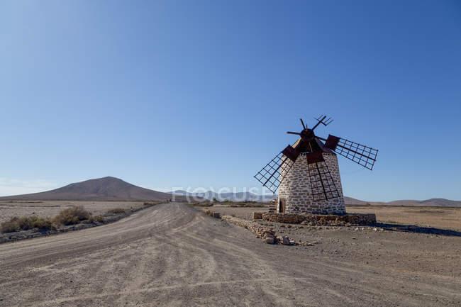 Molino de Tefia windmill — Fotografia de Stock