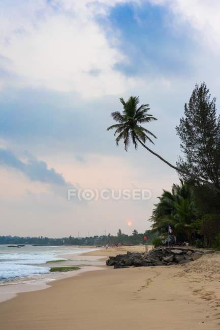 Тангаллє піщаний пляж — стокове фото