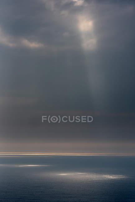 Atlantic Ocean in sunlight — Stock Photo