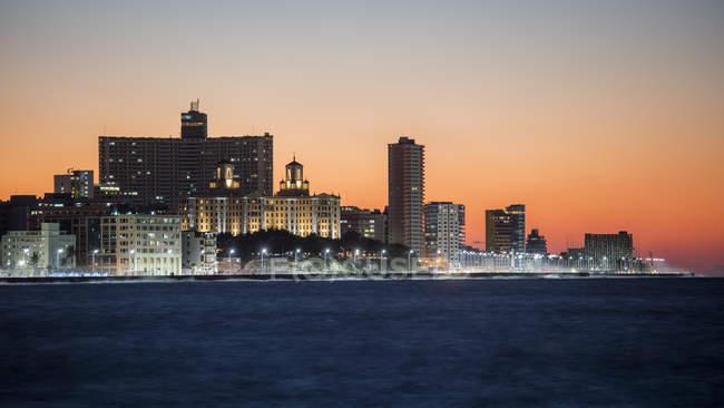 Гаванський міст на заході сонця — стокове фото