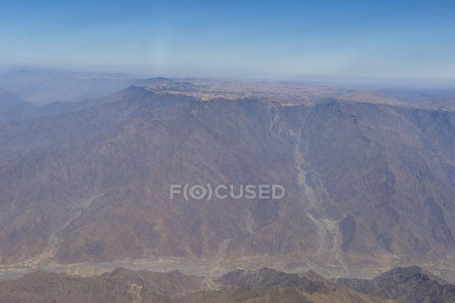 Região montanhosa em torno de Abha, Arábia Saudita, Oriente Médio — Fotografia de Stock