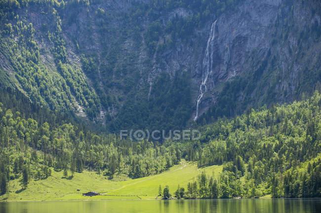 Озеро Оберзее и Клифф — стоковое фото