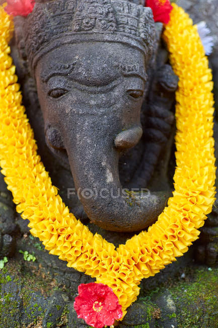 Decorated Ganesh statue in Ubud, Bali, Indonesia, Southeast Asia, Asia — Stock Photo