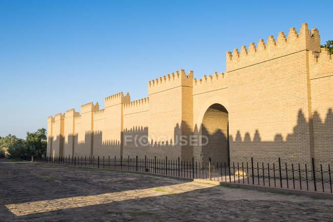 Реконструированный развалинах Вавилон — стоковое фото