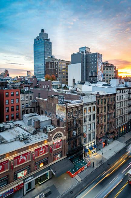 Soho district of New York City — Stock Photo