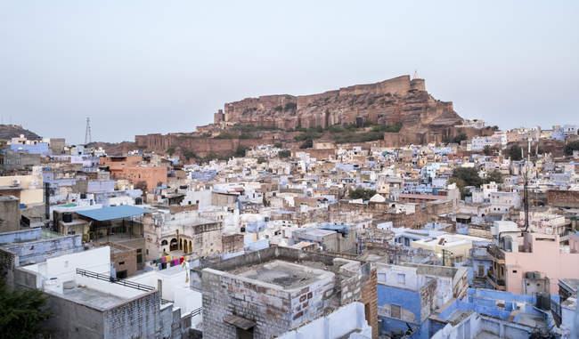 Cityscape with Mehrangarh Fort in Jodhpur, India, Asia — Stock Photo