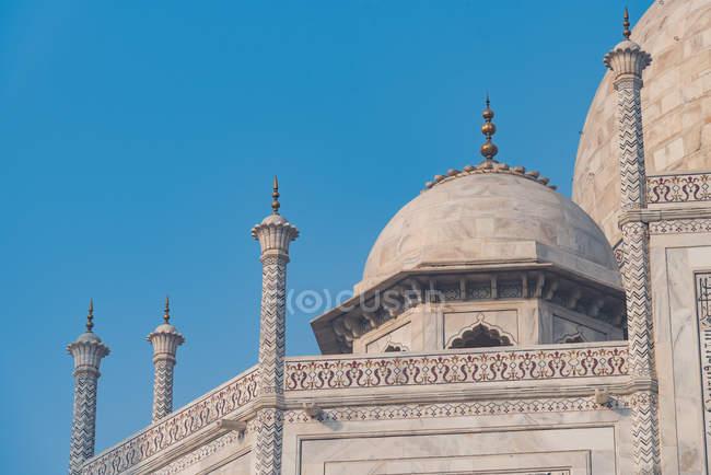 Details of the Taj Mahal in Agra, Uttar Pradesh, India, Asia — Stock Photo