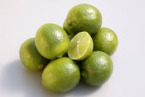 Touche verte Limes — Photo de stock