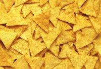 Пряный чипсы — стоковое фото