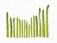 Спірс зеленою спаржею — стокове фото