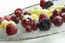 Свіжі ягоди цукром — стокове фото