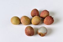 Fresh ripe Lychees — Stock Photo