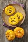 Biscotti al cioccolato di Halloween — Foto stock