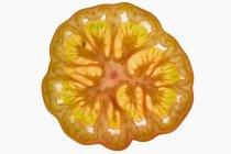 Fetta di pomodoro giallo — Foto stock