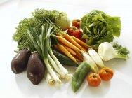 Verduras frescas maduras - foto de stock