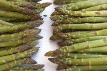 Espargos verdes frescos — Fotografia de Stock