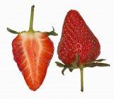 Frische reife Erdbeere — Stockfoto