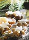 Stelle biscotti per Natale — Foto stock