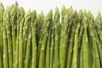 Texture d'asperges vertes — Photo de stock