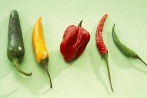 Peperoncino colorato — Foto stock