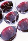 RedWineSeis copas de vino tinto - foto de stock