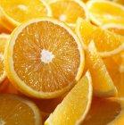 Cales et moitiés orange — Photo de stock