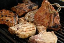Various types of meat — Stock Photo