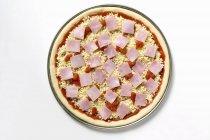 Pizza pomodoro crudo — Foto stock