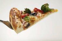 Pizza di verdure di americano-stile — Foto stock