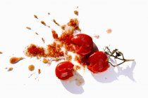Squashed red tomatoes — Stock Photo