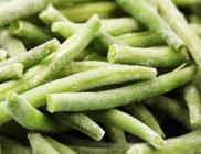 Haricots verts congelés — Photo de stock