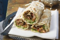 Dner wraps from Turkey — Stock Photo