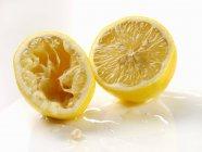 Due metà di limone — Foto stock